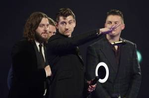 Tennant (centre) leave Artic Monkeys stunned by shocking rant